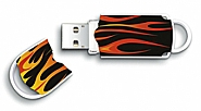 Integral 8GB Xpression USB Flash Drive Hot Rod