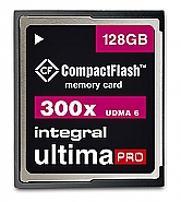 Integral 128GB CompactFlash UltimaPro 300x