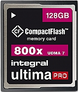 Integral 128GB CompactFlash UltimaPro 800x