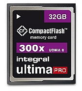 Integral 32GB CompactFlash UltimaPro 300x