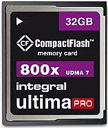 Integral 32GB CompactFlash UltimaPro 800x