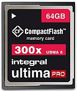 Integral 64GB CompactFlash UltimaPro 300x