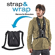 Miggo Strap and Wrap Binocular Harness black