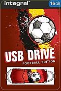 Integral 16GB Red  Devils USB2.0 Flash Drive