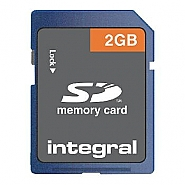 Integral 2GB SD card