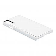 iPhone X/XS Case, Plastic, White (10)
