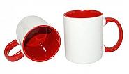 Mug 11oz, inside & handle Red (12)