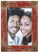Dupla portrait frame, 20x30 cm, red