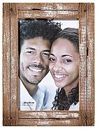 Dupla portrait frame, 20x30 cm,  white