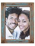 Dupla portrait frame, 30x40 cm, blue