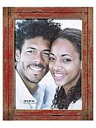 Dupla portrait frame, 30x40 cm, red