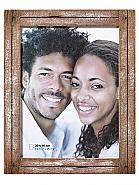 Dupla portrait frame, 30x40 cm,  white