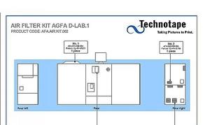 Air Filter Agfa / Cutter area