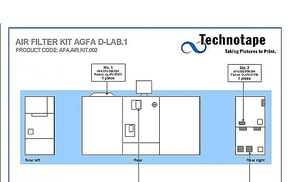 Air Filter Agfa /  CCD