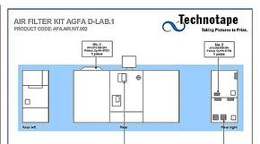 Air Filter Agfa / Lamp House