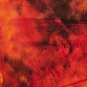 Achtergrond in stof 300 x 500 cm Rood gewolkt