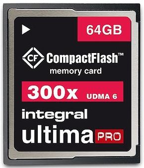 Integral 64GB CompactFlash UltimaPro 300x