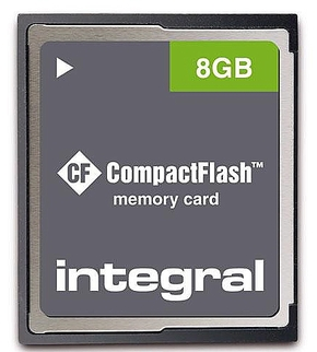 Integral 8GB CompactFlash