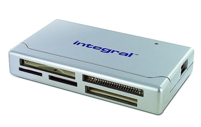 Integral All-in-one card reader 2.0