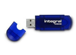 Integral 128GB Courier USB2.0 Flash Drive