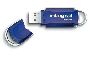 Integral 32GB Courier USB2.0 Flash Drive