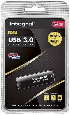 Integral 64GB Noir USB3.0 Flash Drive
