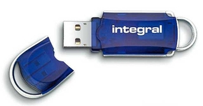 Integral 8GB Courier USB2.0 Flash Drive