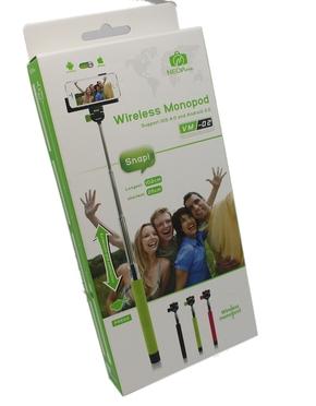 Bluetooth Monopod voor selfies