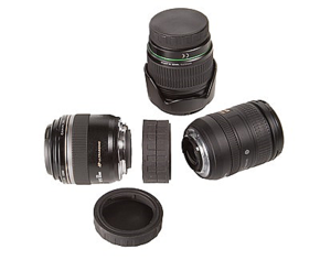 Lens mount Cap Double Canon