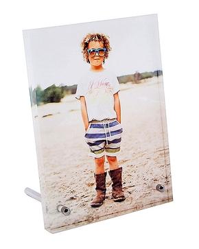 Photo Block met metalen voetjes 178 x 128 x 15mm (1)