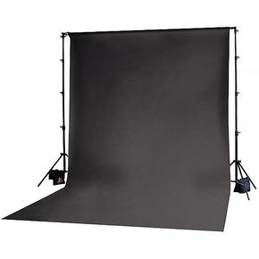 Achtergrond in stof 3m x 3.65m Zwart