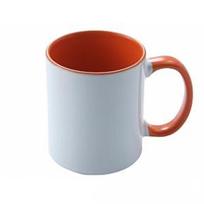 Mug 11oz, inside & handle Orange (12)