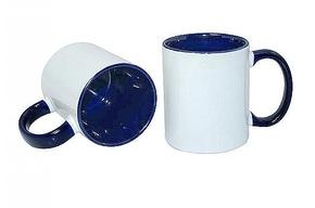 Mug 11oz, inside & handle Dark blue (12)
