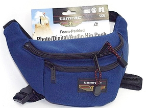 PHOTO AUDIO HIP PAK BLUE