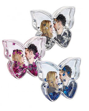 Photo Glitter Butterfly 9 pcs