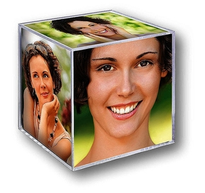 Acrylic Cube 6,5x6,5cm Small (24pcs)