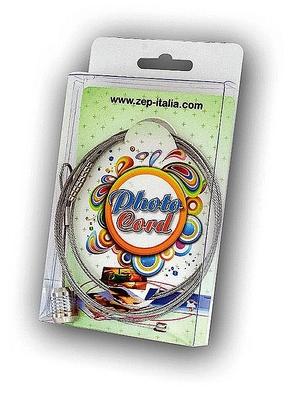 Photo cord silver (12pcs)