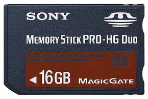 16GB Sony MemoryStick DUO PRO - HX