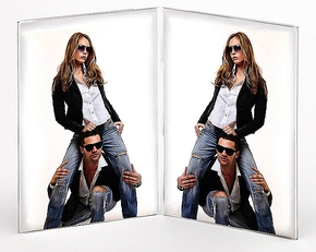 Acryl Double Frame 10x15 (12pcs)