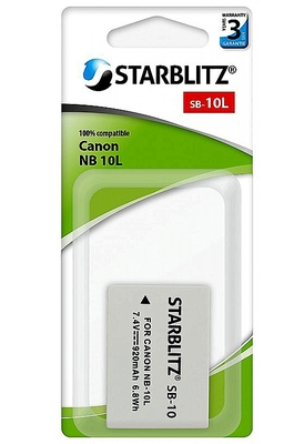 Canon NB 10L (Starblitz)