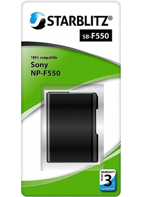Sony NP F550 Lithium ion