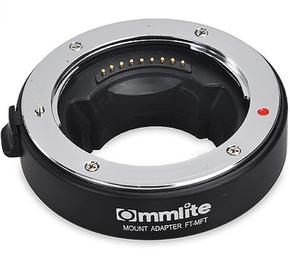 Commlite Lens Mount Adapter Canon EF/EF-S lenzen op MFT