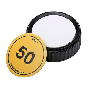 Caruba Writable Rear Lens Cap Nikon