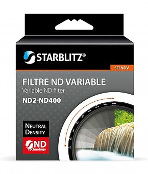 ND Variable (ND2-ND400) Filter 58mm