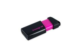 Integral 8GB Pulse Pink USB2.0 Flash Drive