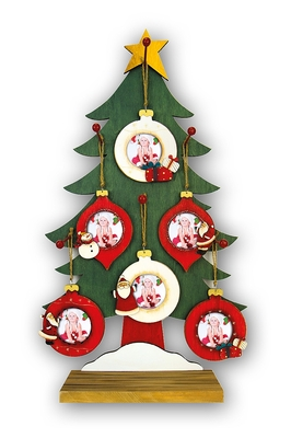 Kit Christmas flakes (36pcs)