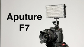 Aputure AL-F7 on camera LED Light