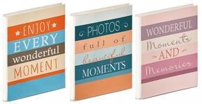 Mini slip-in  Moments 40 photos 10x15cm 3 colors (24 pcs)