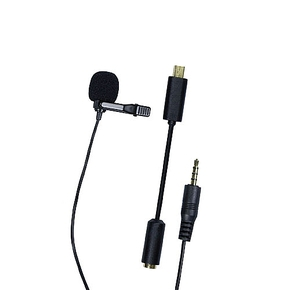 Dorr Omnidirectional Lavalier Microphone for GoPro