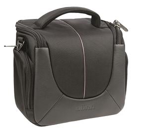 Yuma Photo bag medium black/orange